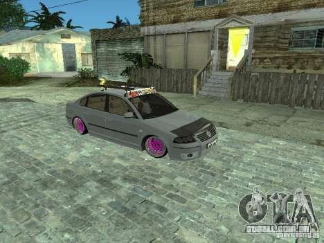VW Passat B5 Dope para GTA San Andreas