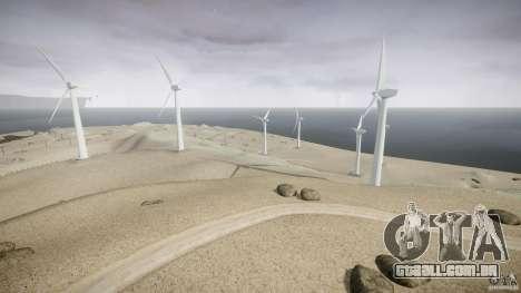 Wind Farm Island - California IV para GTA 4 por diante tela