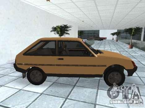 ZAZ Tavria 1103 para GTA San Andreas esquerda vista