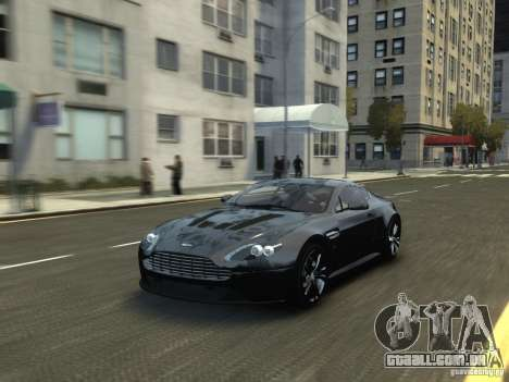 Aston Martin V12 Vantage 2010 V.2.0 para GTA 4 vista direita