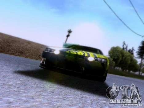 Nissan Silvia S14 Matt Powers v3 para GTA San Andreas vista direita