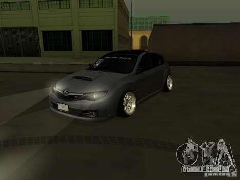 Subaru Impreza STI hellaflush para GTA San Andreas