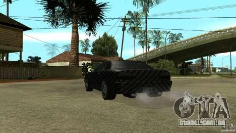 Elegy Carbon Style V 1.00 para GTA San Andreas vista traseira