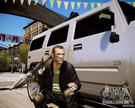 CoD Black Ops Hudson para GTA 4 oitavo tela