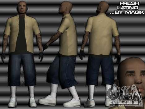 Os Latinos novos para GTA: SA para GTA San Andreas
