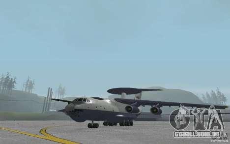 Berijew A-50 Mainstay para GTA San Andreas esquerda vista