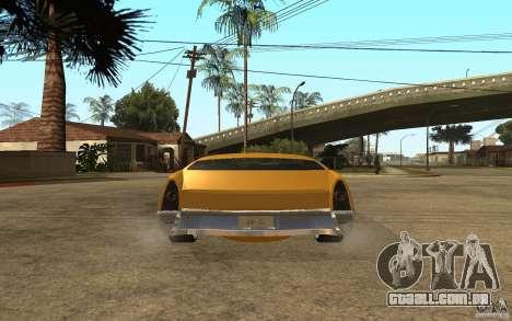 MGC Phantom para GTA San Andreas traseira esquerda vista