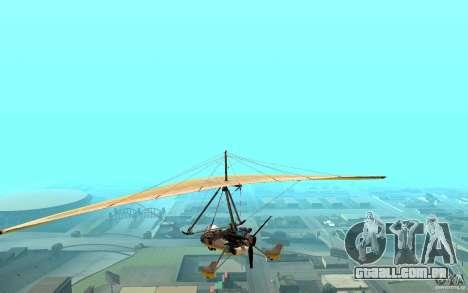 Asa delta para GTA San Andreas esquerda vista