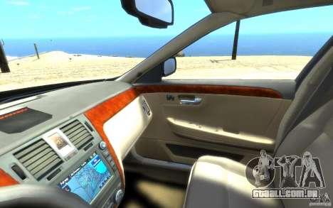 Cadillac DTS v 2.0 para GTA 4 vista superior