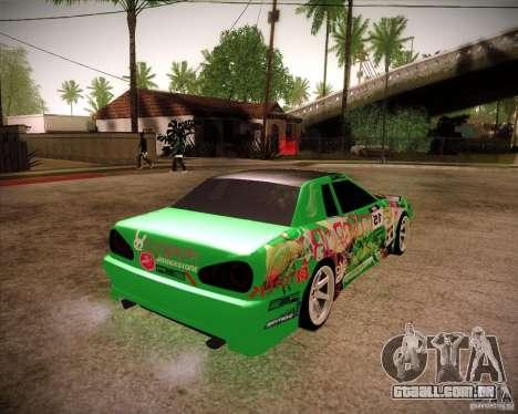 Elegy Toy Sport v2.0 Shikov Version para GTA San Andreas traseira esquerda vista