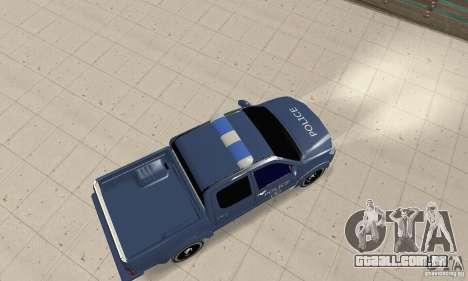 Toyota Hilux Somaliland Police para GTA San Andreas