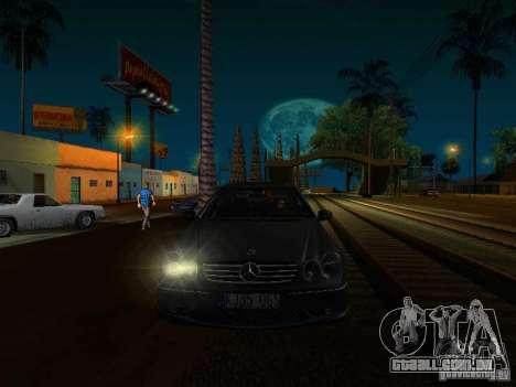 Mercedes-Benz CLK55 AMG para GTA San Andreas vista direita