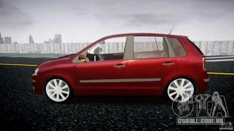 Volkswagen Polo 1998 para GTA 4 esquerda vista