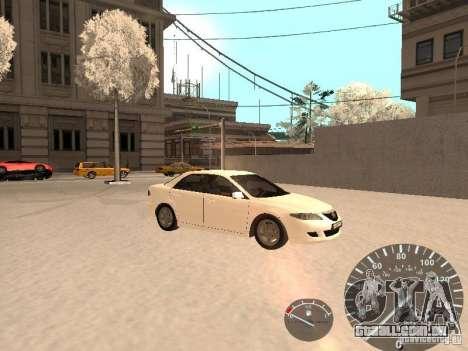 Mazda 6 2004 para GTA San Andreas vista direita