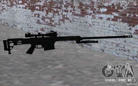 M98B para GTA San Andreas por diante tela