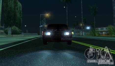 VAZ 2107 Gangsta para GTA San Andreas vista direita