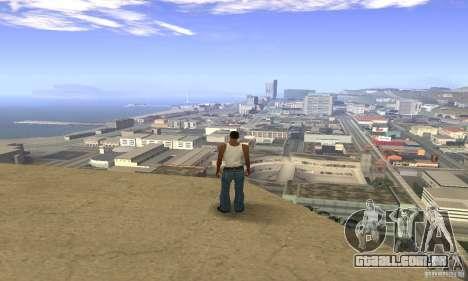 Sunshine ENB Series by Recaro para GTA San Andreas por diante tela
