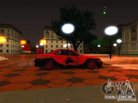 ENBSeries by Mick Rosin para GTA San Andreas por diante tela
