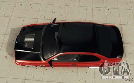 BMW Fan Drift Bolidas para GTA San Andreas vista direita