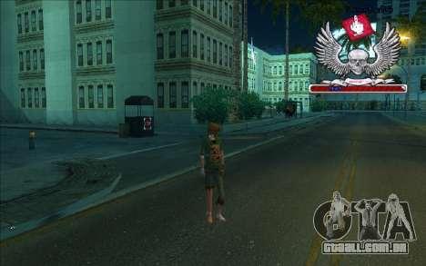 HD caixa-Bum para GTA San Andreas por diante tela