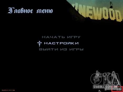 v. 1.1 gta_sa.exe para GTA San Andreas segunda tela