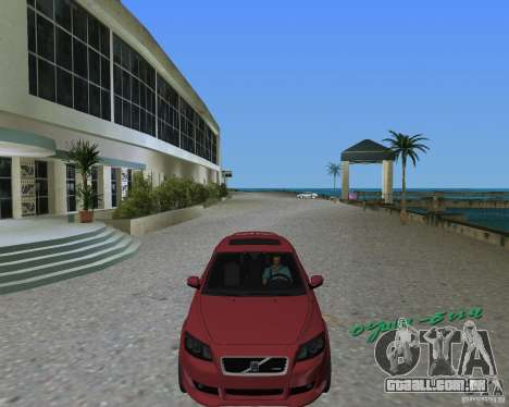 Volvo C30 para GTA Vice City vista direita