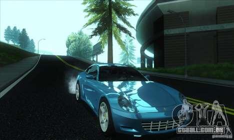 Ferrari 612 Scaglietti para GTA San Andreas vista traseira