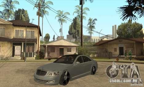 Mercedes Benz Panorama 2011 para GTA San Andreas