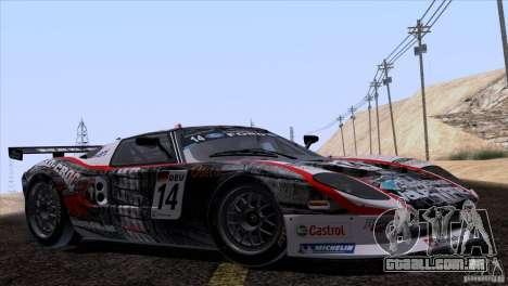 Ford GT Matech GT3 Series para o motor de GTA San Andreas