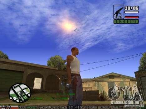 Armas de Pak para GTA San Andreas terceira tela