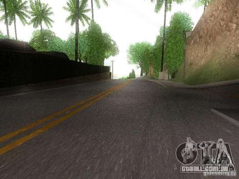 Modification Of The Road para GTA San Andreas segunda tela