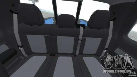 Ford F150 SVT Raptor 2011 para GTA 4 vista de volta