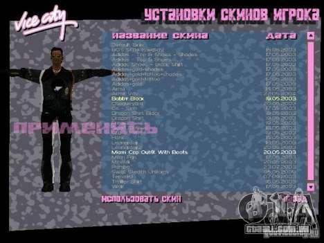 Pack de skins para o Tommy para GTA Vice City segunda tela