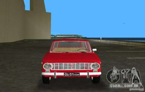 VAZ 2102 para GTA Vice City vista traseira