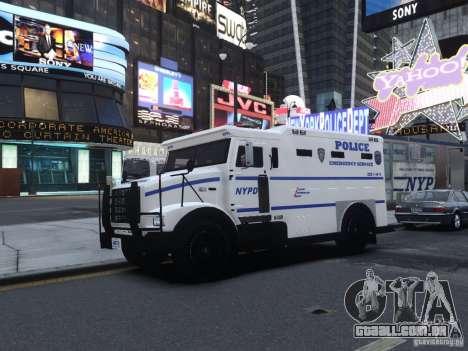 Enforcer Emergency Service NYPD para GTA 4