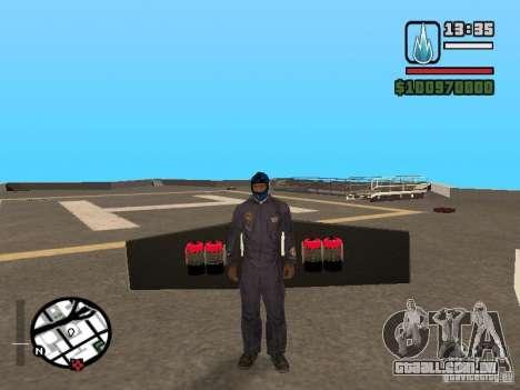 Jetwing Mod para GTA San Andreas quinto tela