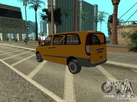 Mercedes-Benz Vito 2003 para GTA San Andreas esquerda vista