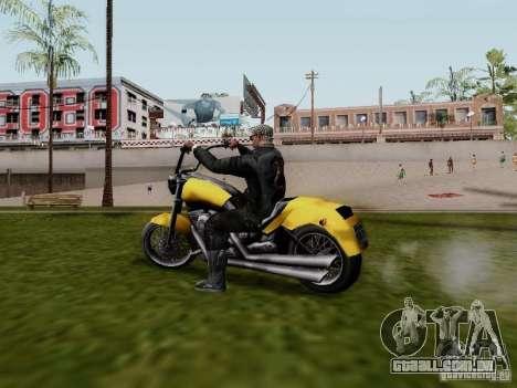 Vice City Freeway para GTA San Andreas esquerda vista