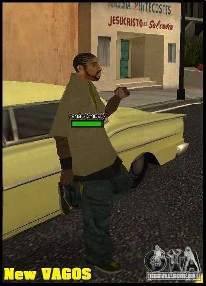 New Vagos [lsv2] para GTA San Andreas segunda tela