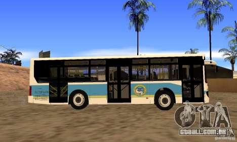 Daewoo Bus BC211MA Almaty para GTA San Andreas vista direita