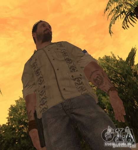 Frank Woods de Call of Duty Black Ops para GTA San Andreas segunda tela