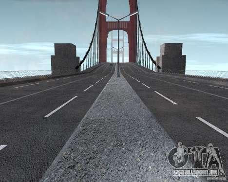 Novas texturas de três pontes em SF para GTA San Andreas oitavo tela