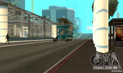 Double Decker Tram para GTA San Andreas