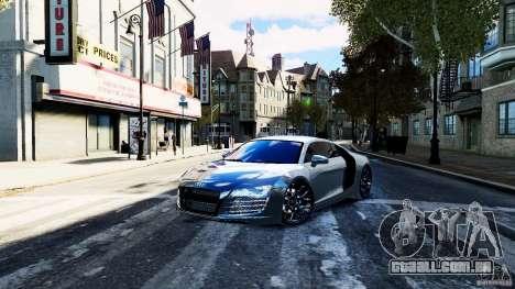 Audi R8 Spider 2011 para GTA 4