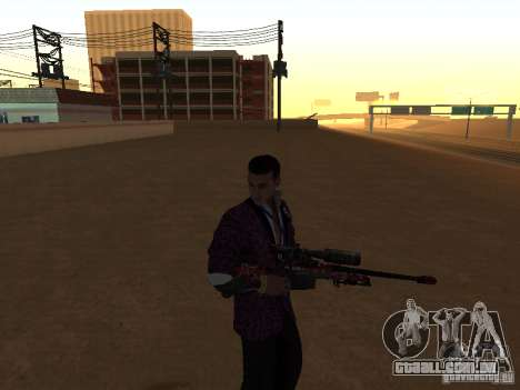 AWP para GTA San Andreas terceira tela