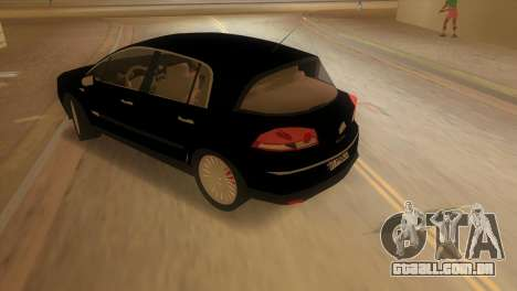 Renault Vel Satis para GTA Vice City deixou vista