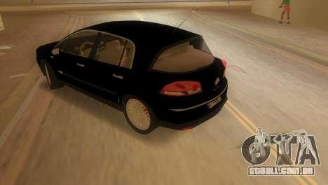 Renault Vel Satis para GTA Vice City deixou vista