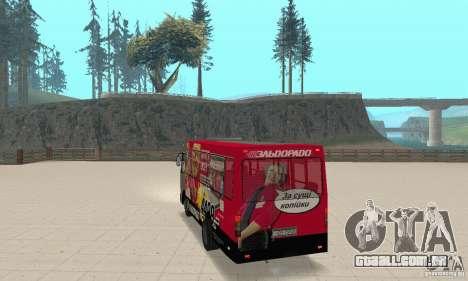 Bogdan A091 para GTA San Andreas esquerda vista