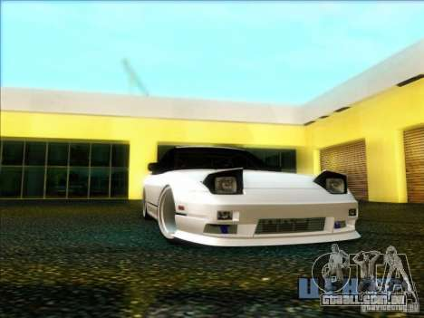 Nissan 240SX para GTA San Andreas vista traseira
