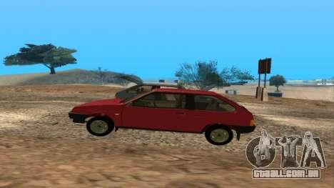 VAZ 2108 para o motor de GTA San Andreas